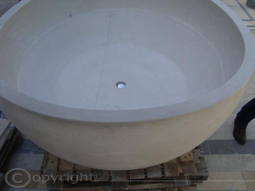 Vasche da bagno pietra lavica lavorazione marmi sergio grasso