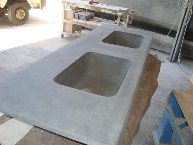 Lavabi in pietra lavica catania acireale pietra lavica lavorazione marmi sergio grasso srl - Lavabi per cucina ...