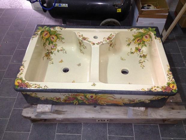 Lavelli da cucina in pietra e in marmo catania pietra lavica lavorazione marmi sergio - Lavelli cucina in pietra ...